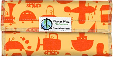 Planet Wise Snack Bag, Red Ride On