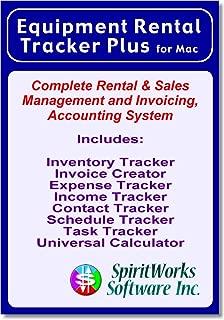 Equipment Rental Tracker Plus for Mac [Download]