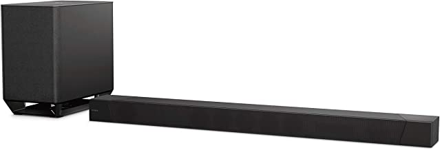 Sony ST5000 7.1.2ch 800W Dolby Atmos Soundbar with Wireless Subwoofer (HT-ST5000), Surround Sound Home Theater experience, Black