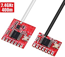WHDTS 2.4G 400M Wireless Transceiver Module T400 Transmitter GWB Receiver Kit for Remote Control Toys IIC SPI Communication