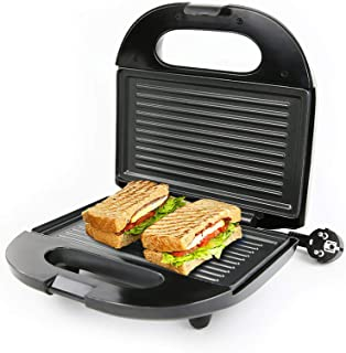 Plancha eléctrica para el hogar, máquina de desayuno, sándwich, hamburguesa, panqueques, placa para hornear, tostadora de ...
