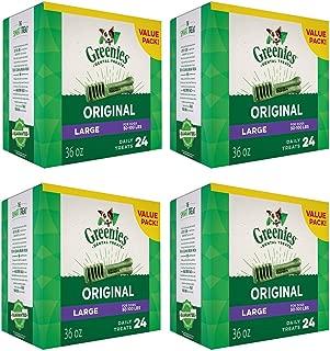Greenies Dental Chews Value Size Tub 24ct 144oz Large (4 x 36oz)