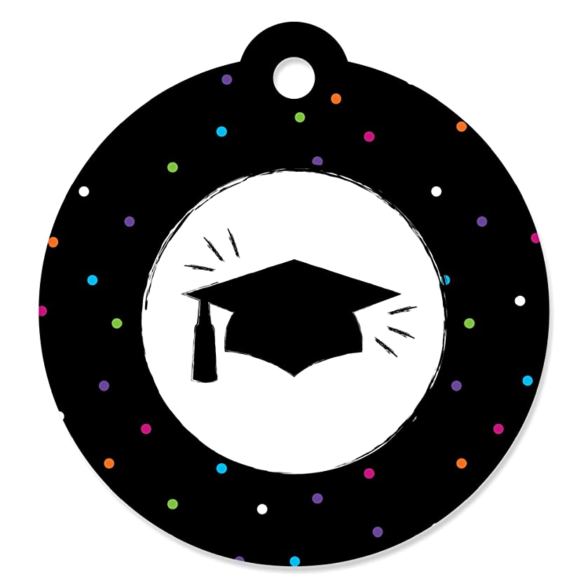Hats Off Grad - Graduation Party Favor Gift Tags (Set of 20)