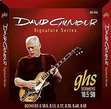 GHS Strings GB-DGG David Gilmour Signature Series, Nickel-Plated Electric Guitar Strings (.010 1/2-.050)