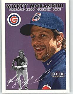 2000 Fleer Tradition #326 Mickey Morandini - Chicago Cubs (Baseball Cards)