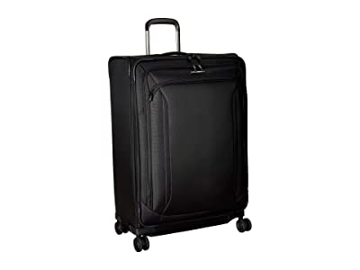 Samsonite 29 Lineate Expandable Spinner (Obsidian Black) Luggage