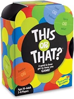 Peaceable Kingdom This or That? Quick and Clever Get to Know You Game for Friends and Family