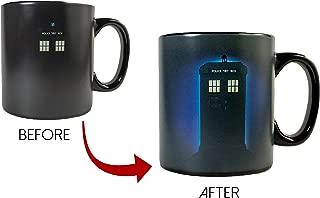 Doctor Who Ceramic Heat Reveal 20oz Tardis Coffee Mug