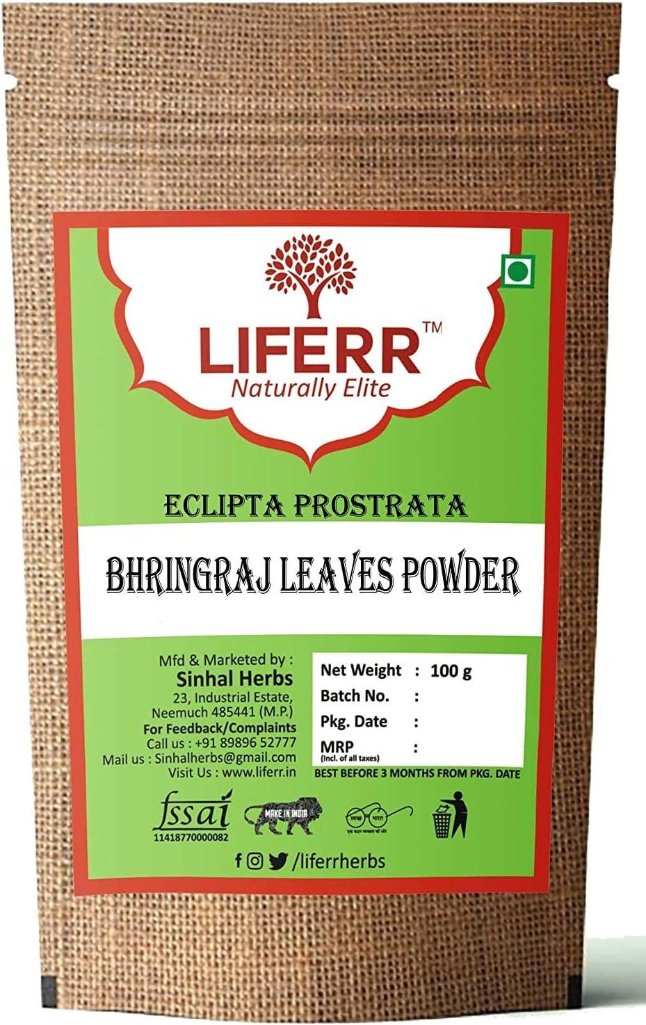 Dharma LIFERR Dried Bhringraj Leaves Powder Eclipta Alba Powde 55% online shopping OFF