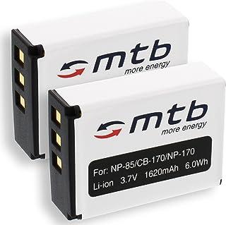 2X Baterías NP-85 para Fuji Fujifilm FinePix S1 / SL240 SL260 SL280 SL300 SL305 SL1000