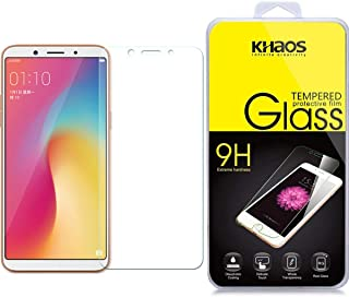 Screen Protector for Oppo F5, KHAOS Tempered Glass Screen Protector Ultra Clear Scratch Resistant for Oppo A73/F5/A73T