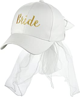 Best bridal baseball cap with veil Reviews