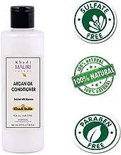 Khadi Mauri Herbal Argan Hair Conditioner - SLES & PARABEN FREE - 210 ml - Powerful Hair Nourisher & Stimulated Hair Growth - Enriched with Amla & Aloe Vera