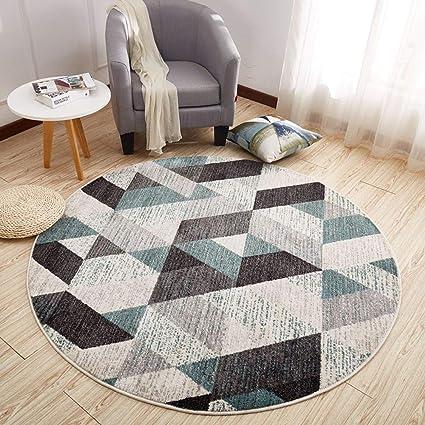 Navidad COTTAGE tema moderno redondo alfombra//alfombra antideslizante
