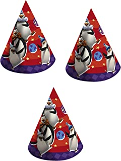 Madagascar Birthday Party Hats - 24 Hats