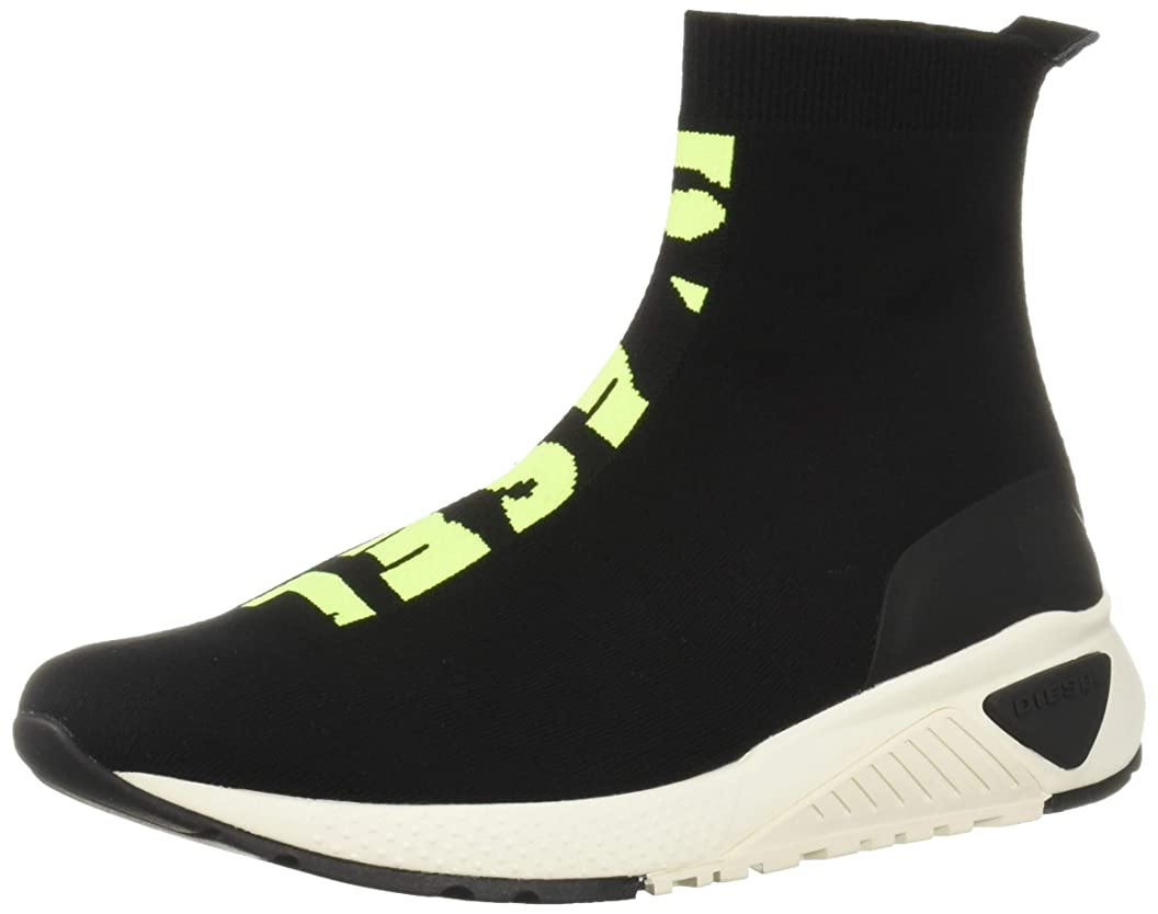 Diesel Men's SKB S-kb ATHL Sock-Sneaker Mid ujfdcypzbiu12