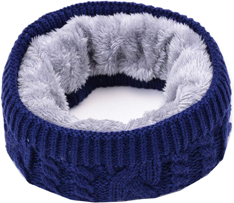 Winter Ranking TOP6 Fleece Lined Scarf Kids Boys Scarves Knitted Arlington Mall Girls W Neck