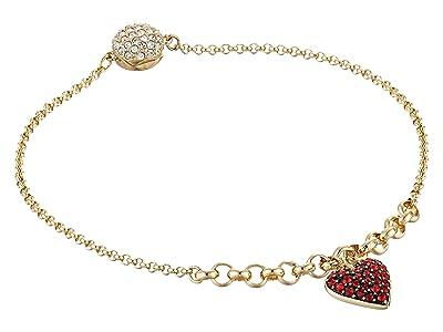 Swarovski Remix Collection Heart Strand Bracelet (Indian Siam 1) Bracelet
