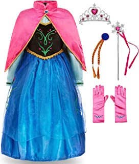 FUNNA Princess Costume for Toddler Girls Fancy Dress Party