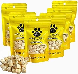 PABLO パブロ 国産 キューブトリーツ チーズ 無添加 小麦粉不使用 犬用 おやつ セット (30g×6袋)