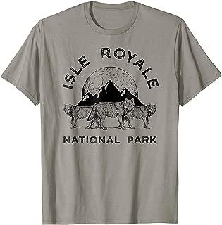 Isle Royale Park Wolf T-Shirt, Northwest Wolves Tee Apparel
