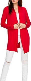 EttelLut Long Lightweight Wrap Cardigans Sweaters Open Front Regular Plus Size
