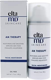 EltaMD AM Therapy Face Moisturizer with Hyaluronic Acid Improves Skin Tone, 1.7 oz
