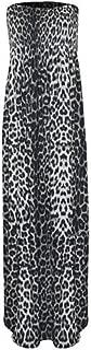 Women's Plain Sheering Boob Tube Maxi Dress
