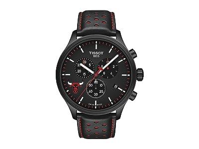 Tissot Chrono XL NBA Chronograph Chicago Bulls T1166173605100 (Black/Black/Red) Watches