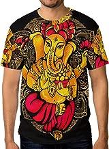 Franzibla Ganesh Ganesha Men's Short Sleeve T-Shirt Top Tee