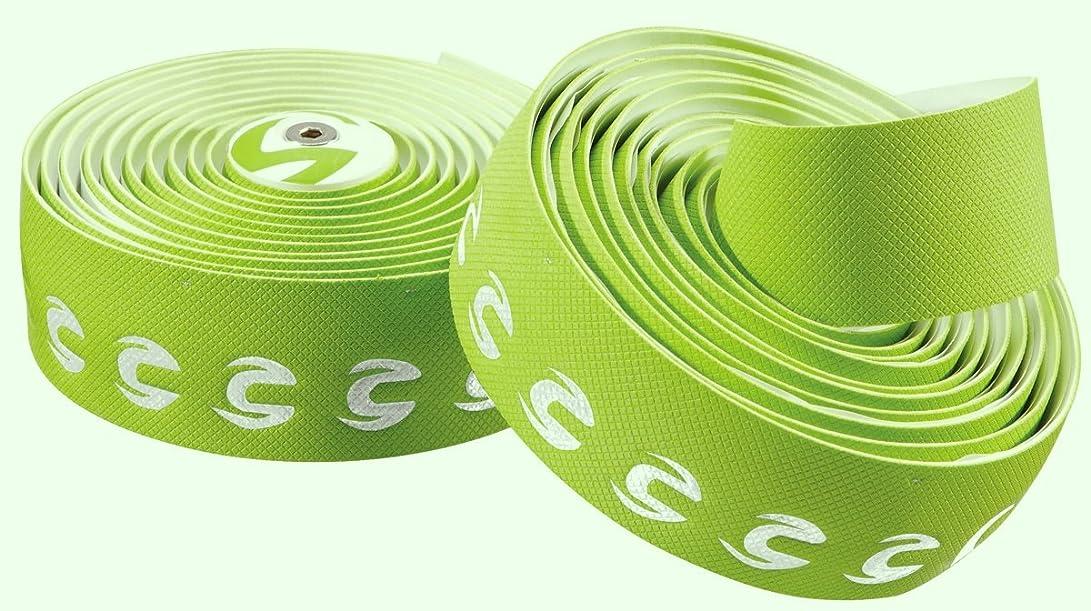 滅びる配る冷淡なCannondale(キャノンデール) プログリップ ハンドルバー テープ - グリーン C704930001