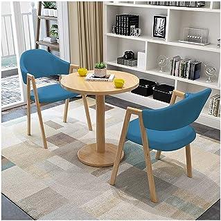 Mesa de comedor Juego de muebles Recepción de la oficina Negociación Mesa y Juego de sillas Mesa de comedor cocina del hogar y de la combinación silla moderna minimalista La negociación de negocios Ca