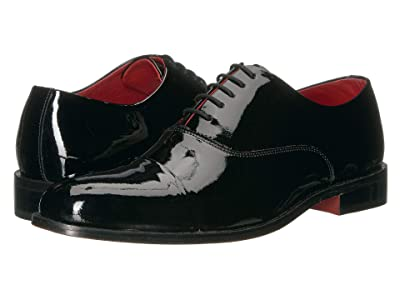 CARLOS by Carlos Santana Tux Cap-Toe (Black) Men