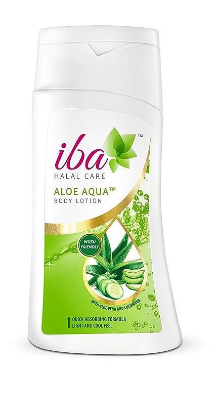 強度征服する蜜Iba Halal Care Aloe Aqua Body Lotion, 200ml