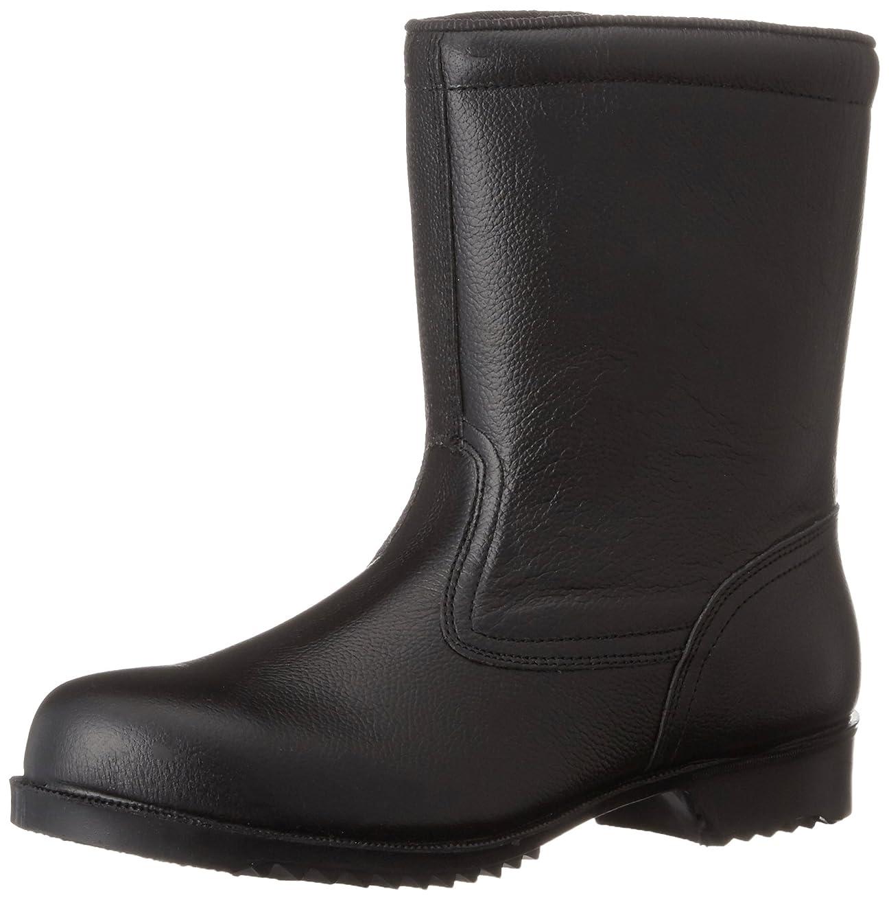 純度技術者寄稿者[ミドリ安全] 安全靴 JIS規格 耐滑ゴム底 半長靴 V2400N 耐滑 メンズ