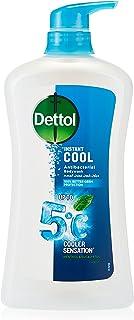 Dettol Cool Liquid Antibacterial Body wash, Mint & Bergamot, 750 ml