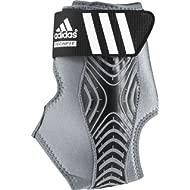 Adizero Speedwrap Ankle Brace, Medium Lead/Black, Medium