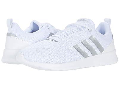 adidas Running QT Racer 2.0 (White/Silver Metallic/Grey) Women