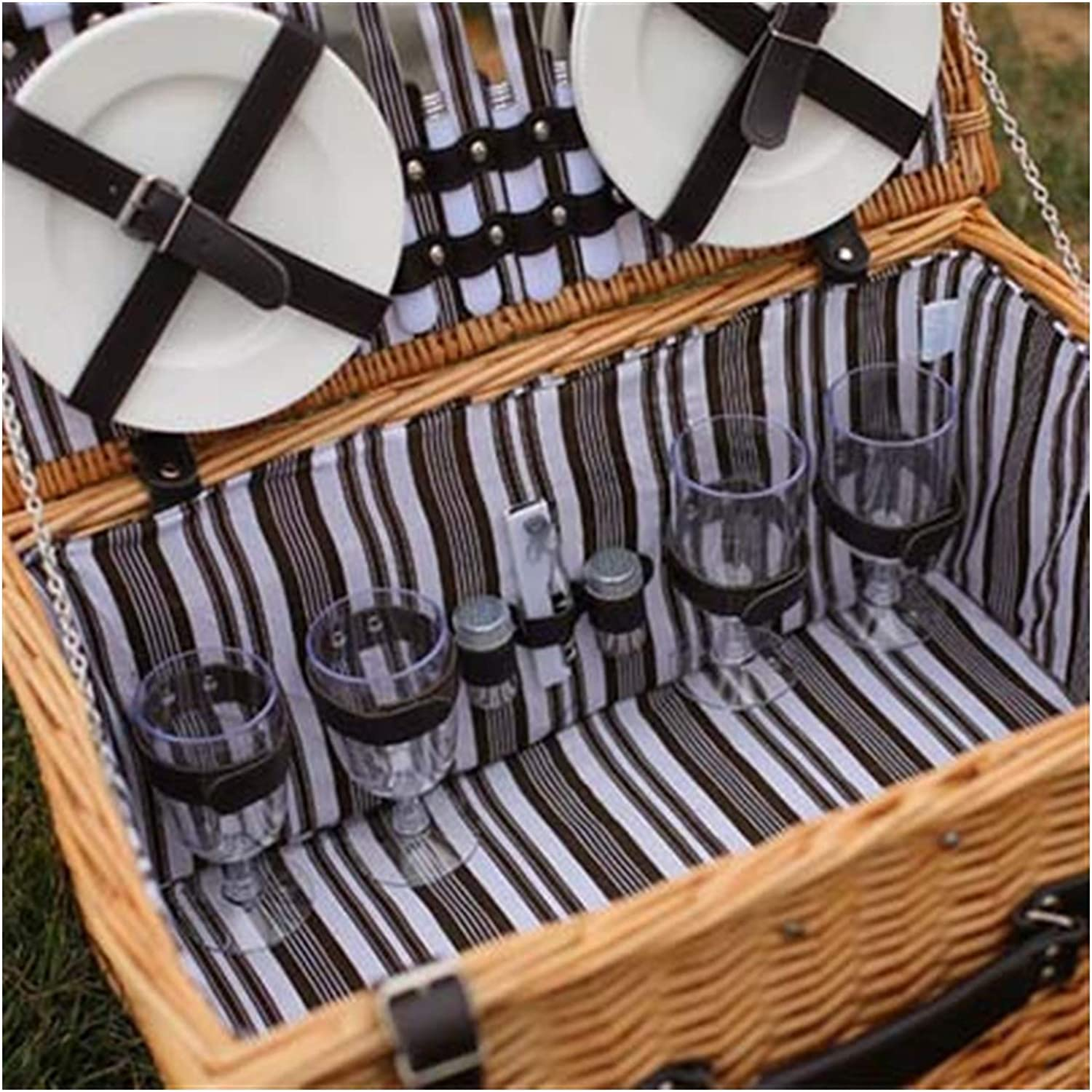 LXQS Multifunctional Picnic 40% OFF Cheap outlet Sale Basket Willow Storage Outdoor