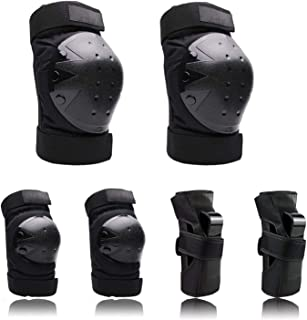 Nascence Protective Gear Set for Kids/Youth/Adult Knee Pads Elbow Pads Wrist Guards for Skateboarding Rollerblading Roller...