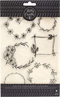 Best floral wreath stamp Reviews