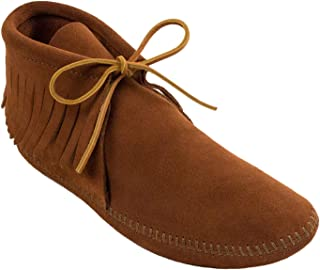 Men's Classic Fringe Moccasin Boot
