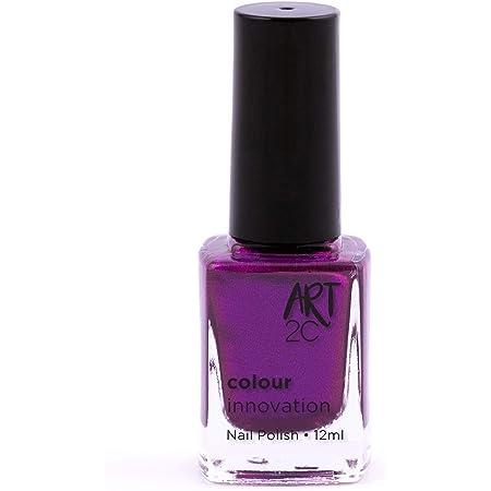 Art 2C - Esmalte de uñas de tonos innovadores, 96 colores, 12ml, color: Magic violence (137)