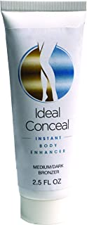 Ideal Conceal Instant Body Enhancer, Medium to Dark, 2.5 Fluid Ounce