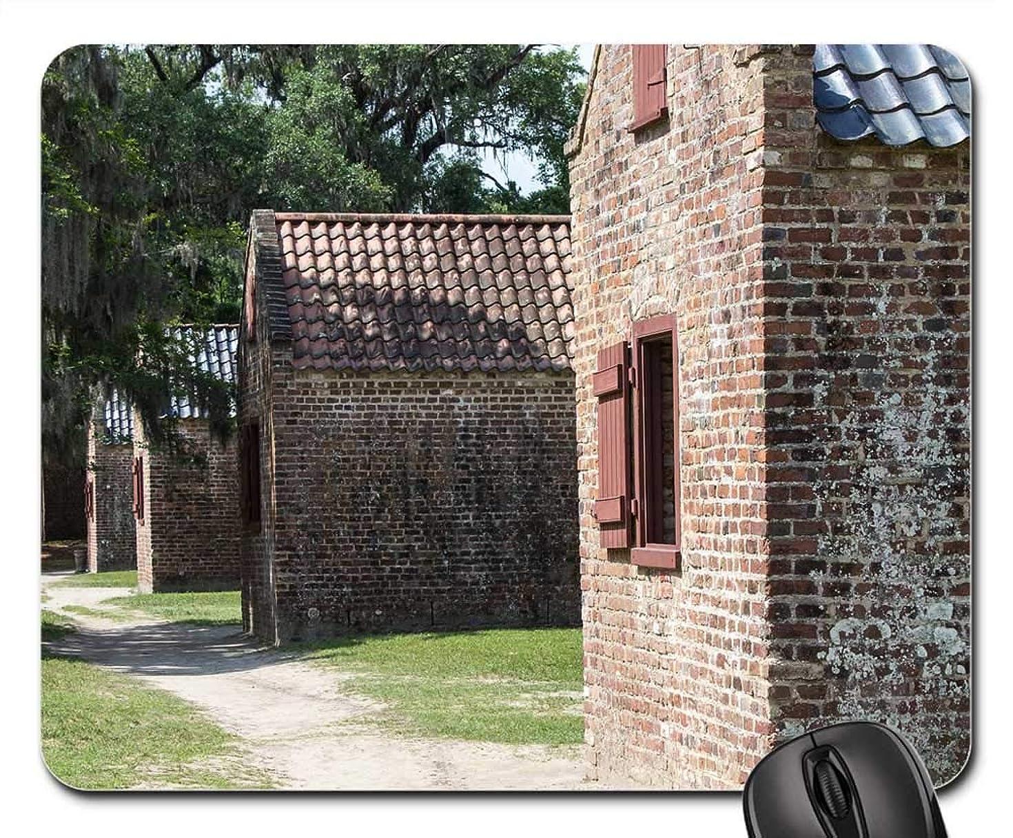 Mouse Pad - Slave Quarters Boone Plantation South Carolina