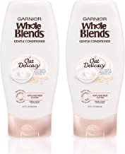 Garnier Hair Care Whole Blends Gentle Oat Delicacy, Moisturizing Conditioner Set With Oat Milk and Rice Cream Extracts, Fo...