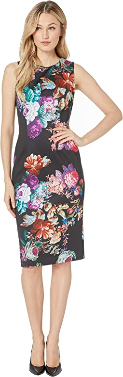 Glorious Garden Sheath Dress