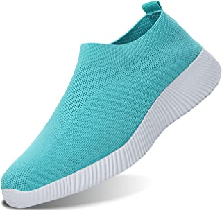 IYVW Sports Men Womens Sneakers Lightweight Lady Trainers Breathable Running Shoes Daily Walking Outdoor Fitness Athletic ...