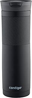 Contigo 72952 Vacuum-Insulated Stainless Steel Travel Mug, 24 oz, Matte Black