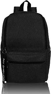 Casual Daypacks OMOUBOI Superbreak Backpack Laptop Backpack for Women & Men Fits Tourism School Business (Black)